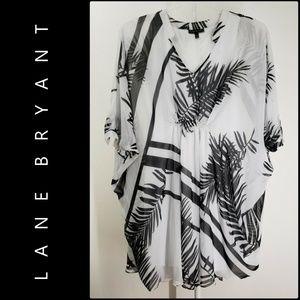 Lane Bryant Woman Kaftan Dress Size 14 / 16 Nwot